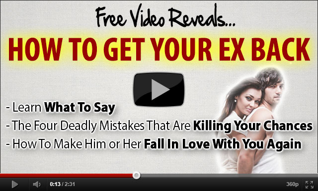 image of how to get ex back video