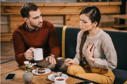 Couples need to sit down and take time to communicate in order to rebuild trust after cheating.